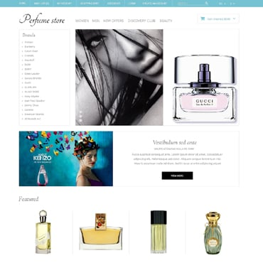 Cosmetics Store Responsive OpenCart Template