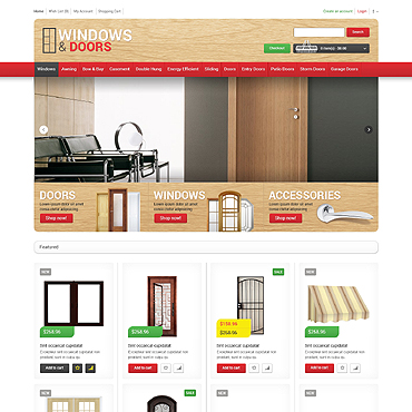 Window Responsive OpenCart Template