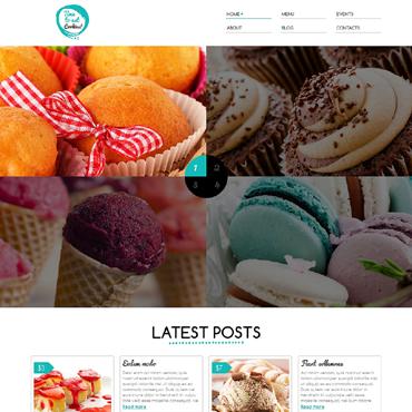 Sweet Shop Responsive Joomla Template