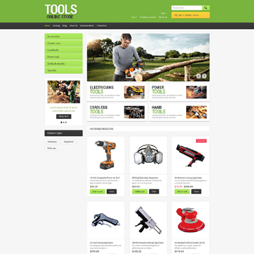 Tools & Equipment Responsive Shopify Theme