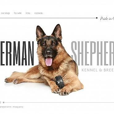 Dog Moto CMS HTML Template