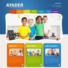 Kids Center Moto CMS HTML Template
