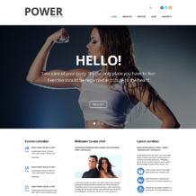 Bodybuilding Responsive WordPress Theme