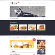 Fast Food Restaurant Responsive Website Template