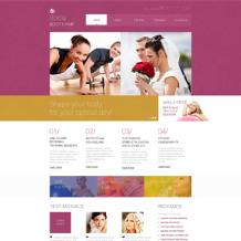 Fitness Responsive Website Template