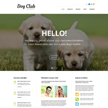 For Babies Training Joomla Template #49255