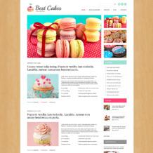 Sweet Shop Responsive WordPress Theme