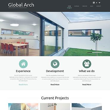 Architecture Responsive Joomla Template #49343