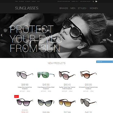 Eye Glasses Responsive Magento Theme