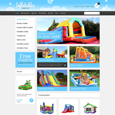 Entertainmnet ZenCart Template