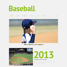 Baseball Responsive WordPress Theme