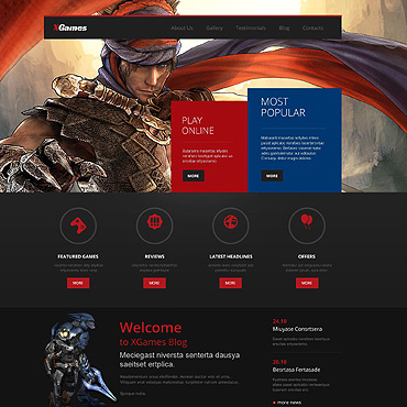 Games WordPress Theme