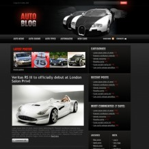 Car PSD Template