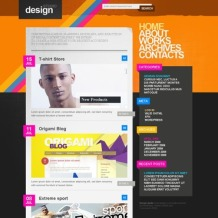 Design Studio PSD Template