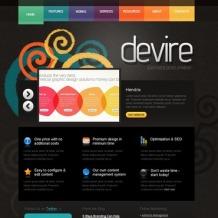 Web Development PSD Template