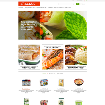 Grocery Store Responsive PrestaShop Theme