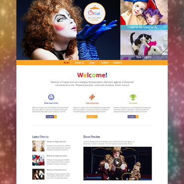 Entertainmnet Responsive WordPress Theme