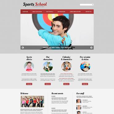 Sport Responsive Joomla Template