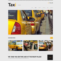 Taxi Responsive WordPress Theme