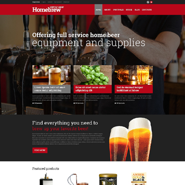 Brewery Responsive WooCommerce Theme