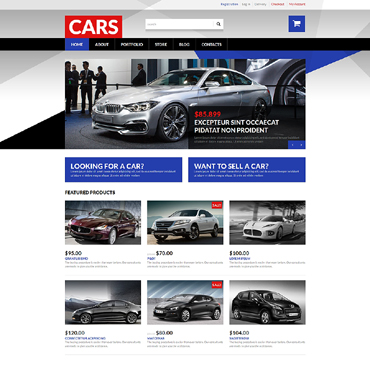 Car Dealer Responsive WooCommerce Theme