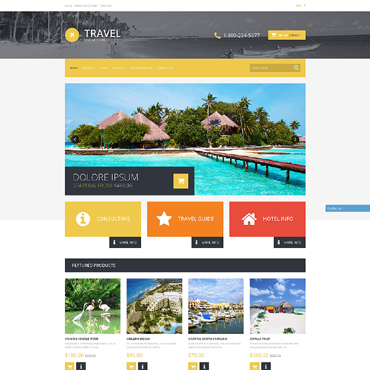 Travel Agency Responsive Shopify Theme