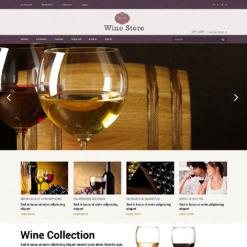 Wine Responsive Magento Theme