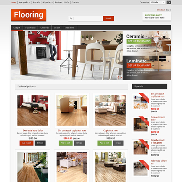 Flooring ZenCart Template