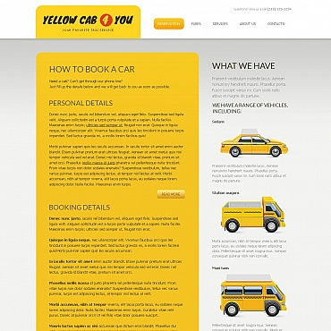 Taxi Moto CMS HTML Template