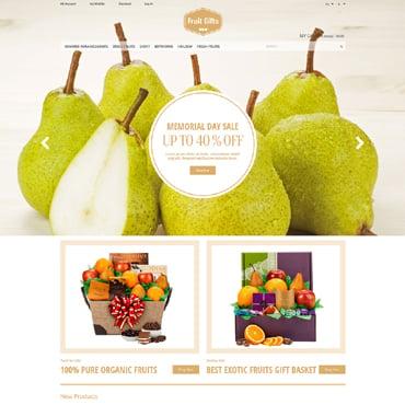 Fruit Responsive Magento Theme