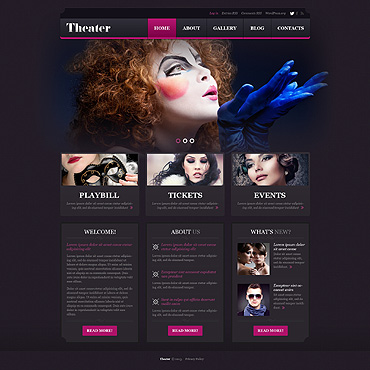 Theater Responsive WordPress Theme