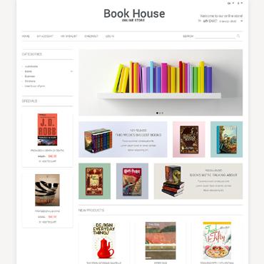 Book Store Responsive Magento Theme