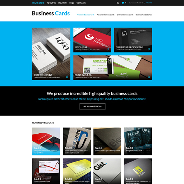 Business VirtueMart Template