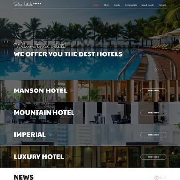 Hotels Responsive Joomla Template