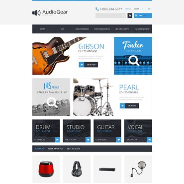 Music Store Responsive PrestaShop Theme