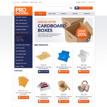 Maintenance Services OsCommerce Template