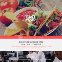 Fast Food Restaurant Responsive Drupal Template