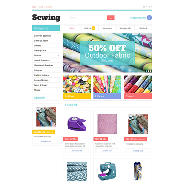 Crafts Responsive OpenCart Template