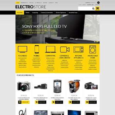 Electronics Store ZenCart Template