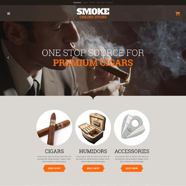 Tobacco Responsive WooCommerce Theme
