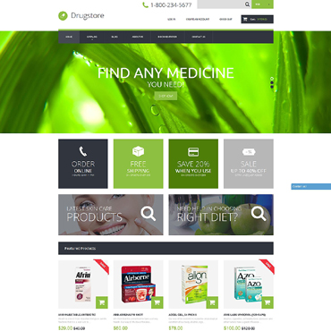 Drug Store Responsive Shopify Theme