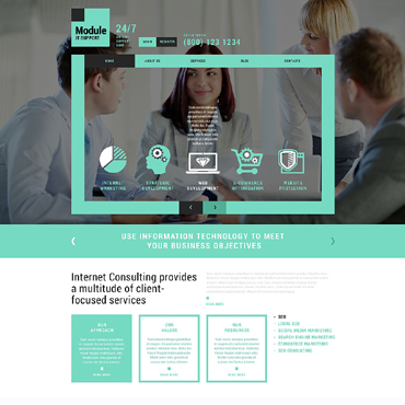 IT Responsive Joomla Template