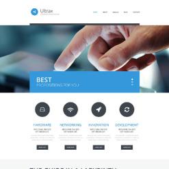 Communications Responsive WordPress Theme