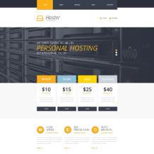 Hosting Responsive Website Template