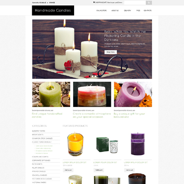 Crafts VirtueMart Template