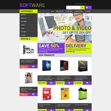 Software Responsive OpenCart Template