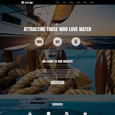 Yachting Responsive Joomla Template