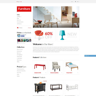 Furniture Responsive Shopify Theme