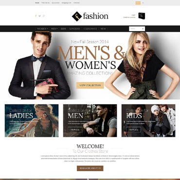 Fashion Board OpenCart Template #51995
