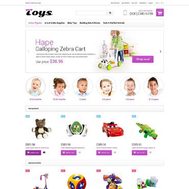 Toy Store Responsive Magento Theme